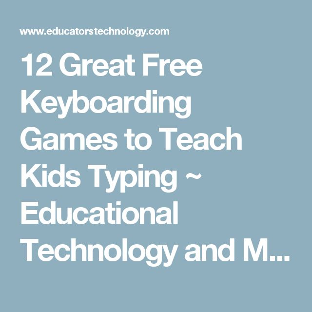 1000+ ideas about Keyboard Games For Kids on Pinterest