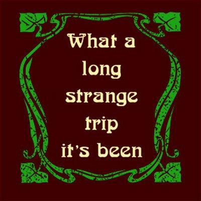 The most famous Grateful Dead lyric in history...via | Hippies Hope Shop