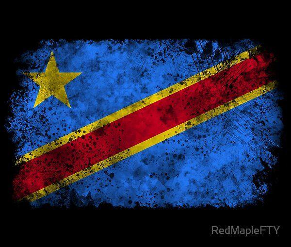 Vintage Democratic Republic Of The Congo Flag By Redmaplefty Redbubble In 2020 Congo Flag Democratic Republic Of The Congo Vintage Flag
