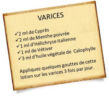 Lentisque pistachier : soigner les varices