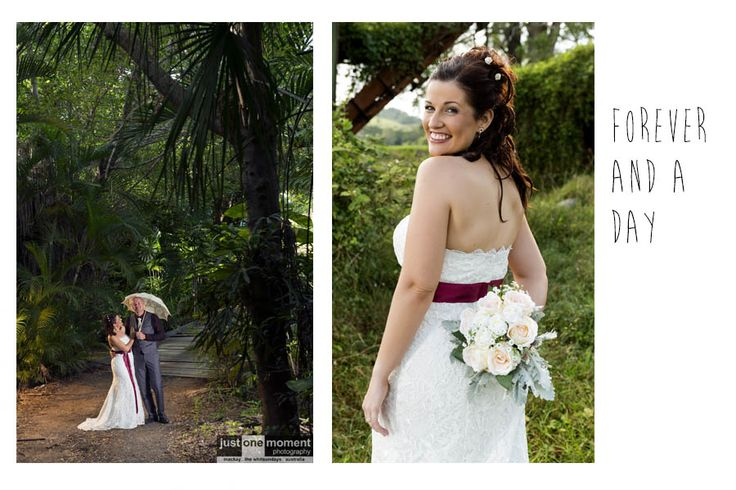 Modern, contemporary wedding photography that is beautiful, timeless and affordable.   Wedding photography ideas featuring Airlie Beach, Daydream Island, Whitsunday island resorts, The Windmill, Mackay Botanical Gardens and much more … #truelove #weddingphotos #justonemoment   www.qldweddingphoto.com.au
