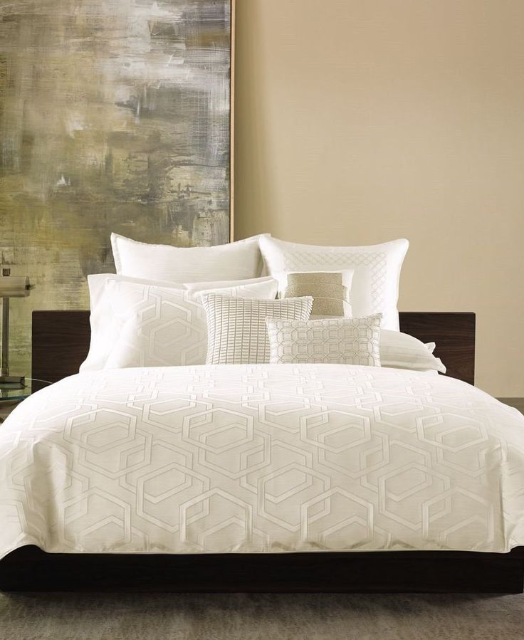 NIP Hotel Collection Ivory Verve Polyester Blend
