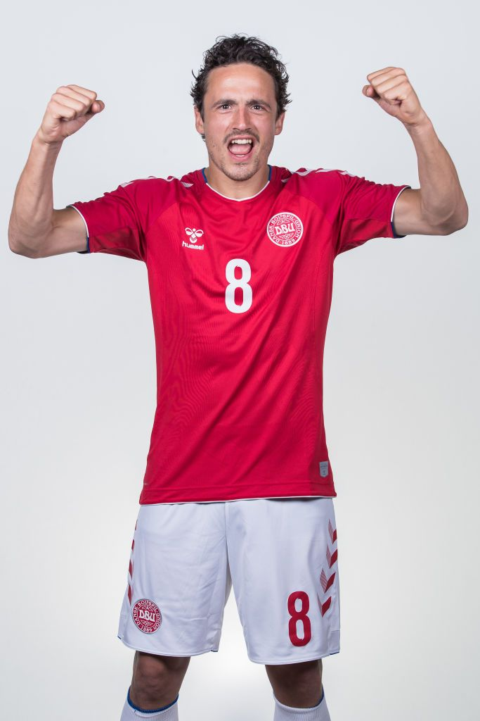 Anapa Russia June 12 Thomas Delaney Of Denmark Poses During Official Fifa World Cup 2018 Portrait Session On June 12 2018 In Ana Fifa Poses Fifa World Cup