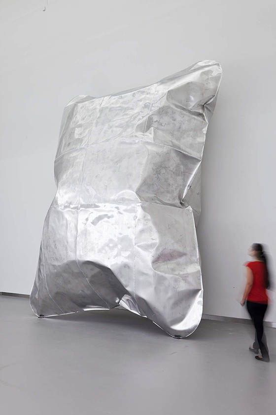Hans Kupelwieser, 'Gonflable', 2012. Aluminium.