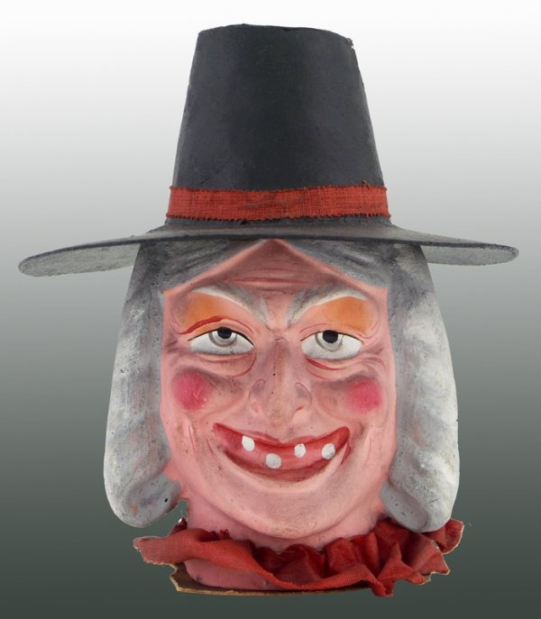 halloween witch candy container - German Halloween Decorations