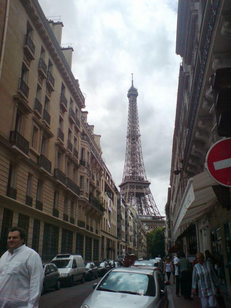 naznaczone kolorem: Paris, Paris…