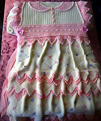 Shower cake for a baby girl
