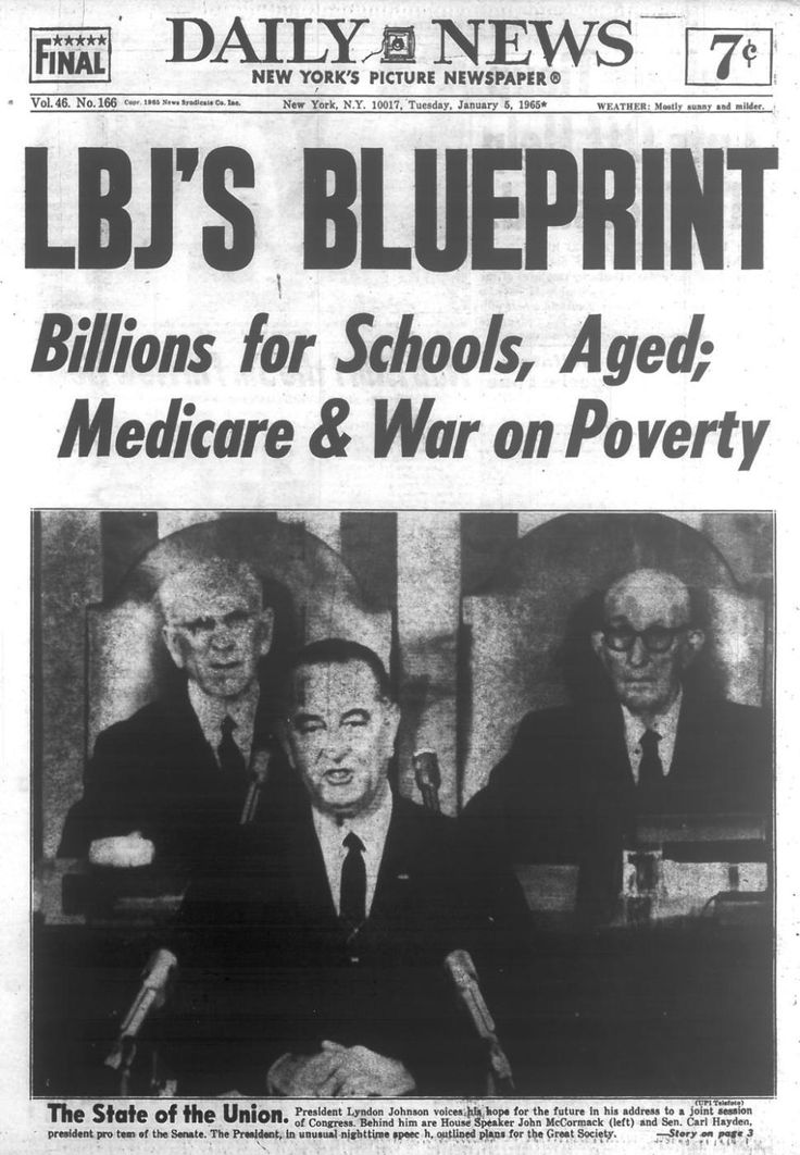 lyndon johnson great society | President Linden B. Johnson announces Great Society program on Tuesday ...