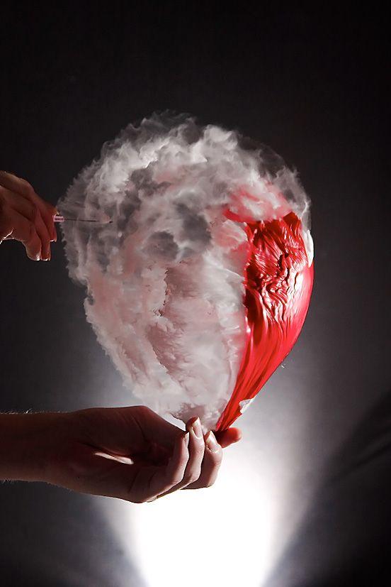 High speed photo balloon test