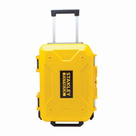 Stanley Tools Organizer Box (Without Wheels), Yellow