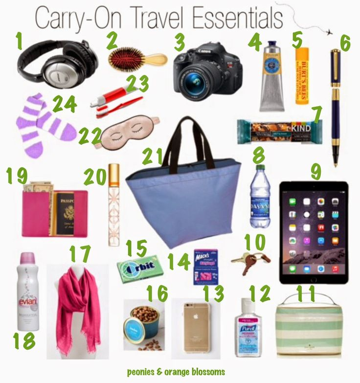 What to Pack for Vacation in Your Carry-On - domestic and international flight survival guide
