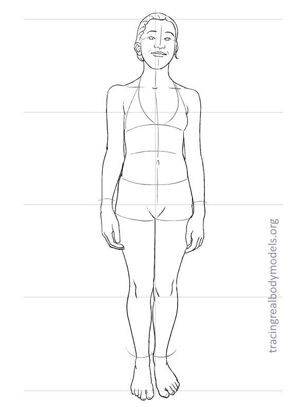The 17 best images about figures on pinterest sketchbooks posts about real body fashion figure templates written by tracingrealbodymodels pronofoot35fo Gallery
