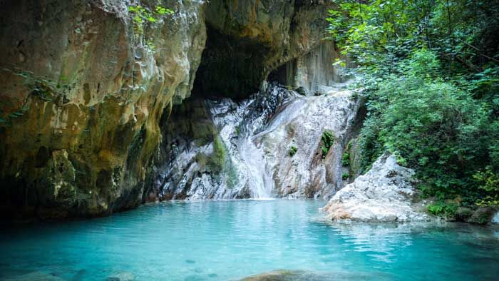 Nydri Waterfall - Mother Nature calls in Lefkada - Reveal Greece