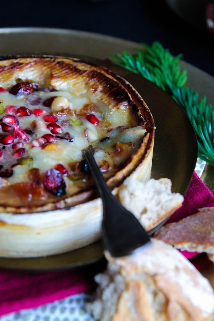 Coulommiers chaud au cidre et fruits secs {sans gluten}
