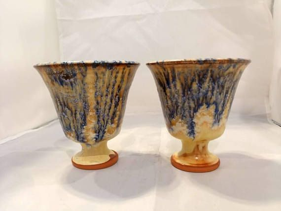 Check out this item in my Etsy shop https://www.etsy.com/listing/569978194/set-of-two-pottery-pythagoras-cup