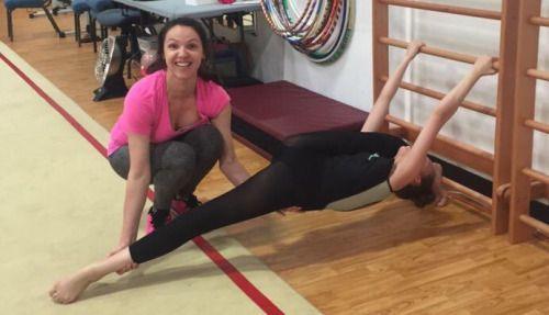 sophia lucia crazy stretching