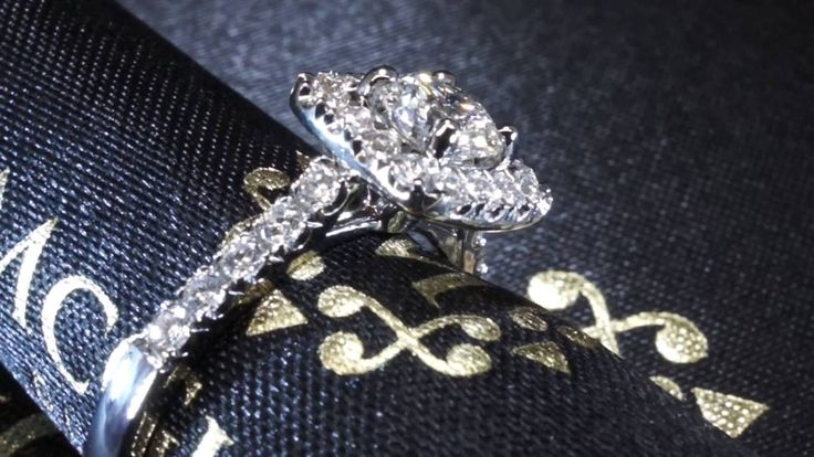 Fabulous cushion halo  Collection by McGuire Diamonds