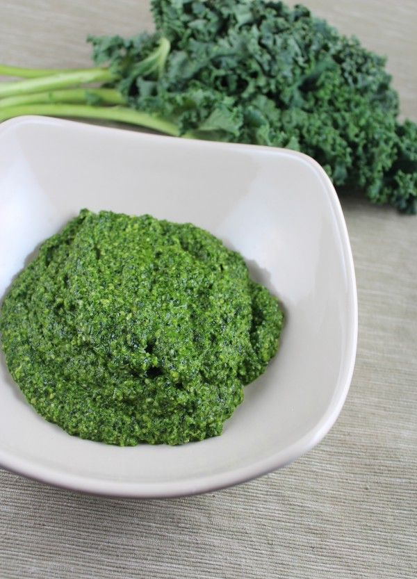 Homemade Kale Pesto