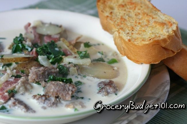 Bring the flavor of Italy to your dining room with this delicious, hearty soup perfectly seasoned and loaded with tender potatoes, sausage and kale in a creamy broth.