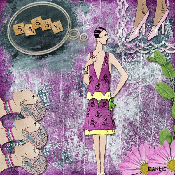 Sassy created by Marlie with Casual Elegance by 2 Curly Headed Monsters Designs. Available @ Mischief Circus. Thanks for looking!
