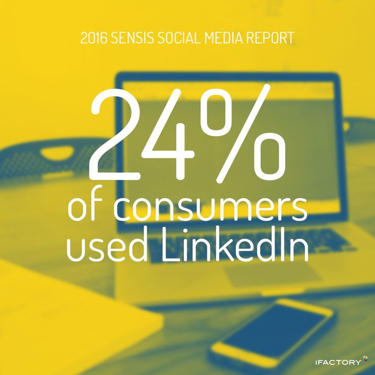 LinkedIn (down from 28 percent to 2 percent). #SensisSocialMediaReport #SensisSocialSocialMediaAustralia #SensisSocial #ifactory #ifactorydigital