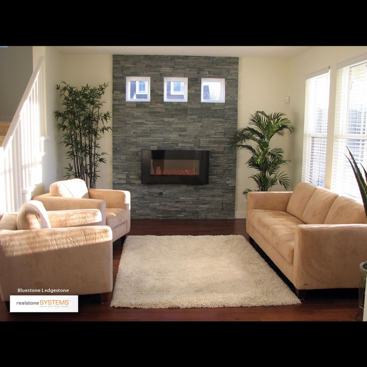 Stone Veneer Electric Fireplace Accent Wall: 54 Best Images About Fireplaces On Pinterest