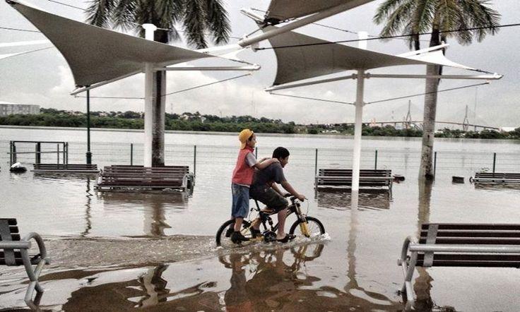 Fotos de la Inundación por el Huracán Ingrid.  Parque Metropolitano de la Laguna del Carpintero.  #Huracan #HuracanIngrid #Inundacion #Tampico #Madero #Altamira    ========================   Rolando De La Garza Kohrs http://About.Me/Rogako ========================