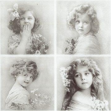 Szalvéta, Sagen - Virágcsokros lányok