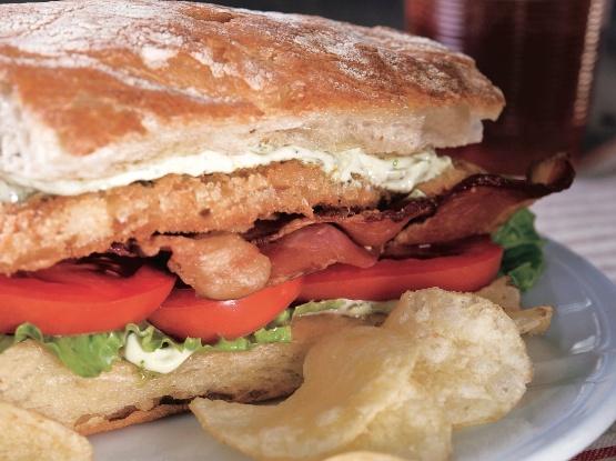 Fried catfish BLT sandwich | Favorite Recipes | Pinterest