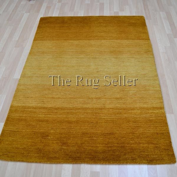 Rainbow Stripes Wool Rugs In Gold Online From The Rug Er Uk