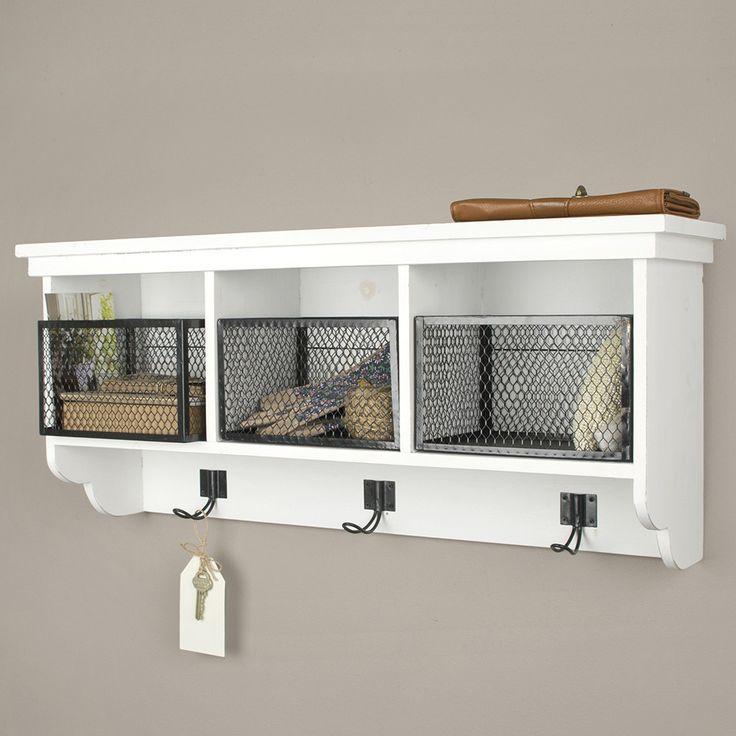 3 Shelf Wall Cabinet