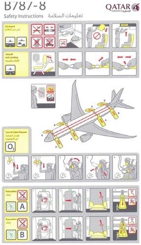 funny flight safety instructions
