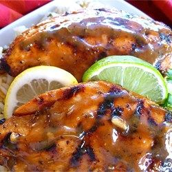 "Ray's Chicken | ""A marinade guaranteed to make your chicken breasts tender and juicy! This one has a little bit of everything in just the right proportions."""