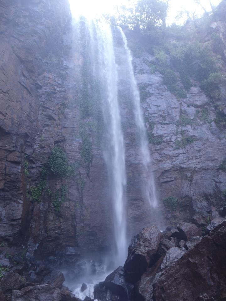 Killarney in Queensland; hidden waterfall