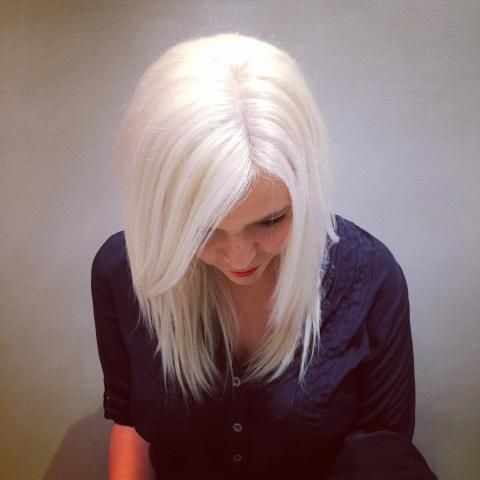 the gold out tips to creating icy blondes hair