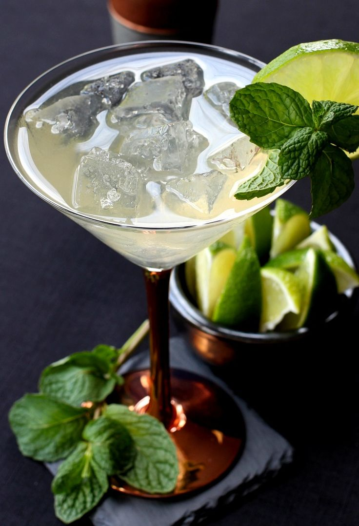 Enjoy a Moscow Mule Martini all year long!