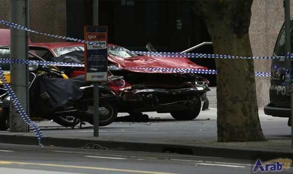 Car struck pedestrians in Melbourne, Australia