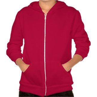 Kids' American Apparel Flex Fleece Zip Hoodie