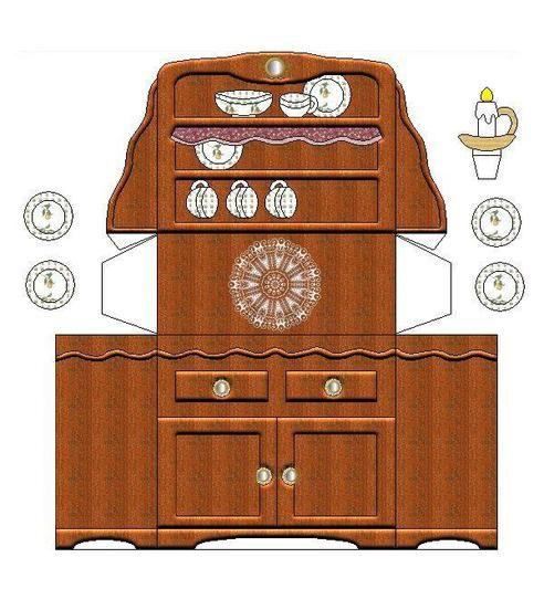 753 Best Dollhouse Printables Images On Pinterest Paper