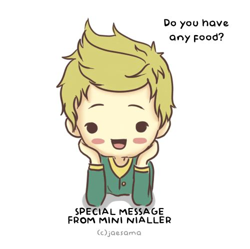 DTING MWAAAAAAA, HE'S SO CUTE, GOSH I LOVE MINI NIALLER, I HAVE LIKE 200 PICS OF HIM ON MY WALLS