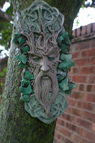 Green Man Garden Ornament   Not Really U0027growing Thingsu0027, But I Would Love  To Putu2026