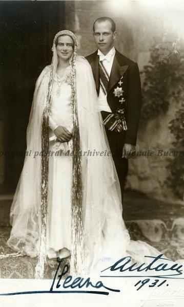 BU-F-01073-1-02390 Alteța Sa Imperială și Regală Ileana, Arhiducesă a Austriei, Principesă de Habsburg - Toscana, Principesă a României, Principesă de Hohenzollern şi soţul său principele Anton de Habsburg, s. d. (sine dato) (niv.Document)