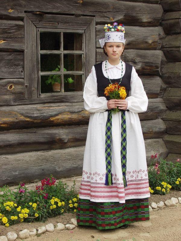 Aukštaitija, Lithuania | Folk Dress | Lithuania, Folk ...