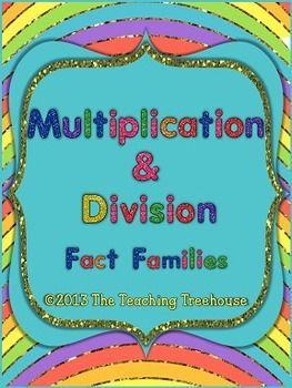 1000+ images about multiplication/division on Pinterest | Fact ...