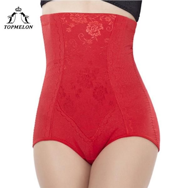 9fae30bf9c6 TOPMELON Butt Lifter Control Pants Slimming Underwear Women Body Shaper  Waist Trainer High Waist Lace Floral Steel…  Discounts  BestPrice
