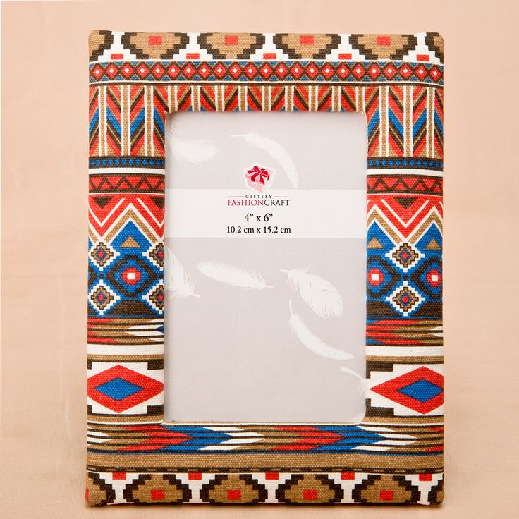 Aztec Picture Frame