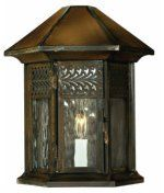 Hinkley Lighting 2994SN Westwinds 1 Light Outdoor Wall Light in Sienna with Clear Water Shades glass - Solid Brass by Hinkley Lighting. $339.00. Southwestern Outdoor Wall Light in Sienna with Clear Water Shades glass from the Westwinds Collection by Hinkley Lighting. Dimensions: 13.00 H 10.50 W 6.00 E - Solid Brass - 2994SN