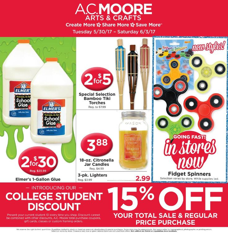 AC Moore Weekly Ad May 30 - June 3, 2017 - http://www.olcatalog.com/home-garden/ac-moore-weekly-ad.html