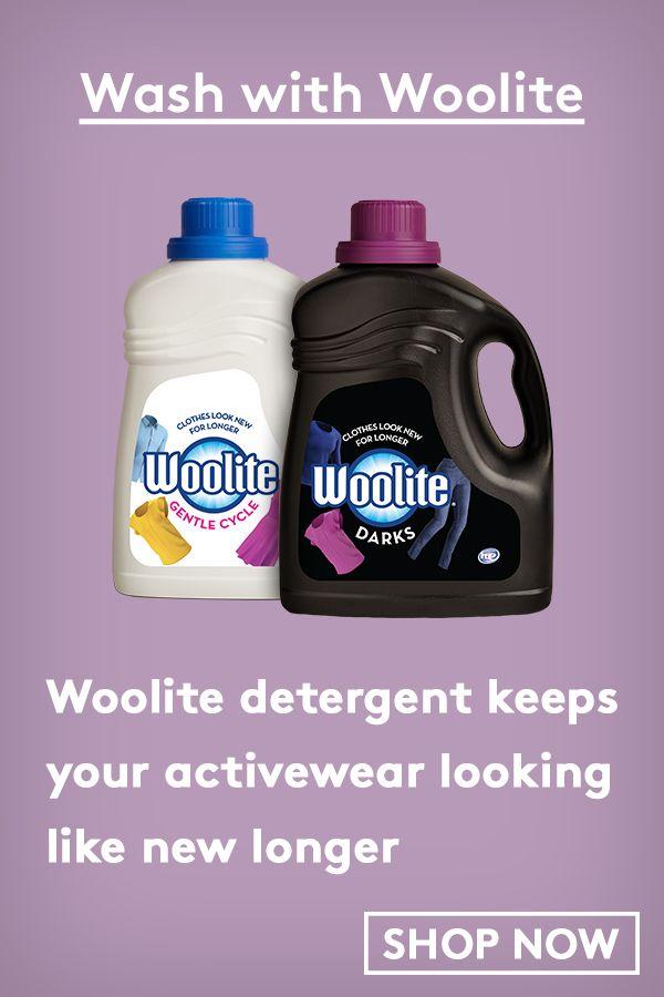 Woolite Detergent Keeps Your Activewear Looking Like New Longer