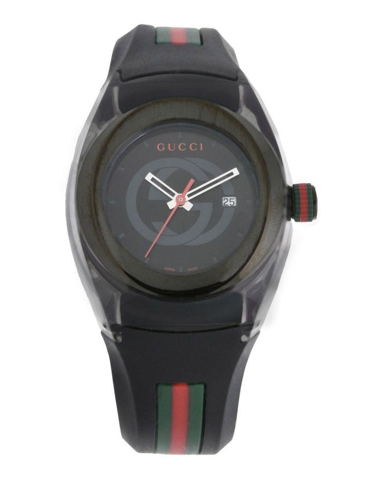 #GUCCI Herren Armbanduhr Farbe Schwarz Größe 1, 58037359CS-1